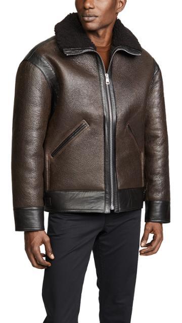 Lemaire Sheepskin Flight Jacket