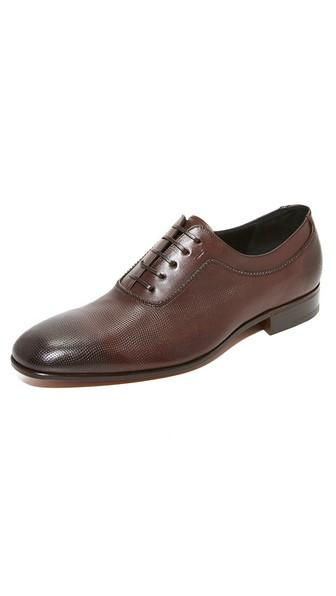 Salvatore Ferragamo Farnese Lace Up Oxfords