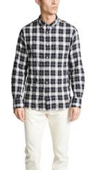Officine Generale Buttondown Check Shirt