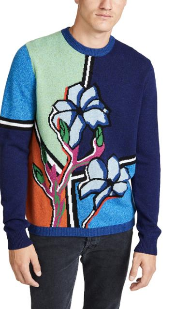Paul Smith Floral Pullover Sweater
