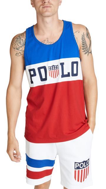 Polo Ralph Lauren Chariots Logo Tank Top