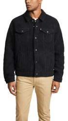 Levi S Red Tab Sherpa Face Trucker