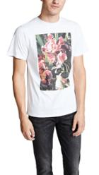 Saturdays Nyc Pink Orchid Short Sleeve Tee