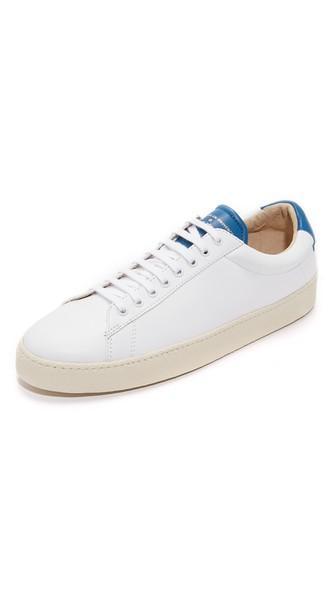 Zespa Zsp 4 Sprt Leather Sneakers