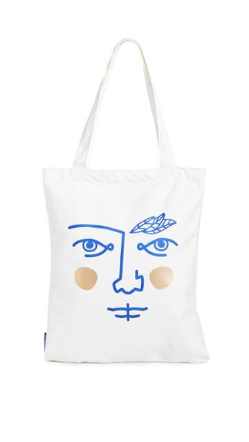 Octaevo Janus Cotto Tote Bag