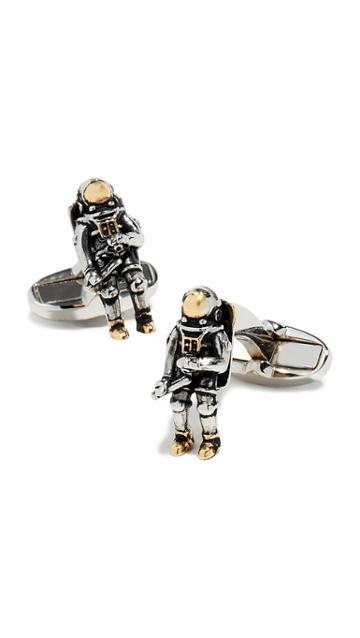 Paul Smith Spaceman Cufflinks