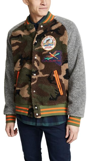 Polo Ralph Lauren Vintage Sherpa Jacket