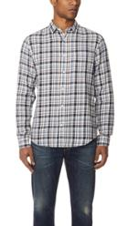 Vince Plaid Long Sleeve Shirt