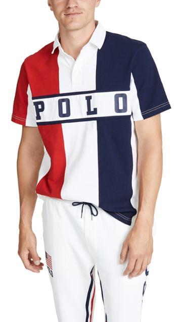 Polo Ralph Lauren Chariots Logo Polo Shirt