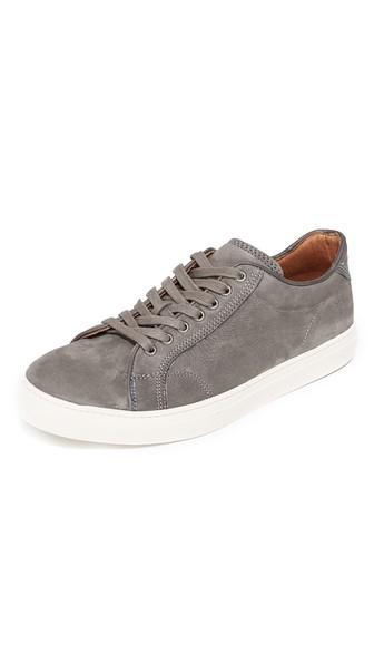 Frye Walker Low Suede Sneakers