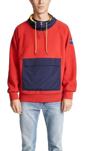 Polo Ralph Lauren Hybrid Fleece Hoodie