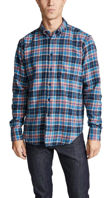 Naked Famous Nep Check Easy Shirt