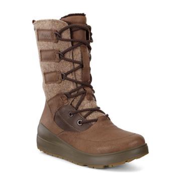 Ecco Womens Noyce Gtx High Boots Size 5-5.5 Birch