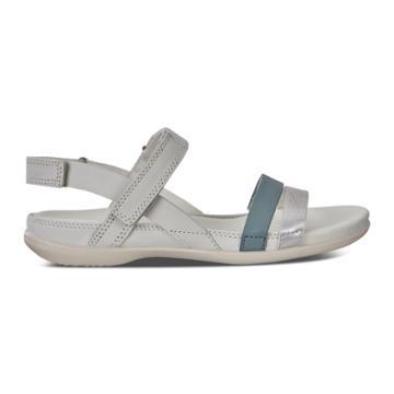 Ecco Flash Alu Sandals Size 6-6.5 Alu Silver