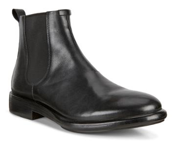 Ecco Vitrus Artisan Chelsea Boots Size 7-7.5 Black