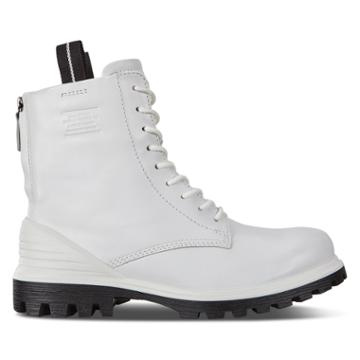 Ecco Tred Tray Boots Size 4-4.5 White