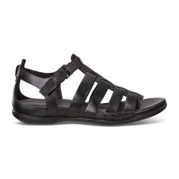 Ecco Flash Flat Sandal Size 11-11.5 Black