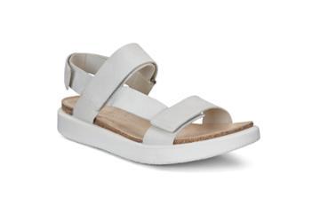 Ecco Corksphere Sandal W Shoe Size 4-4.5 White