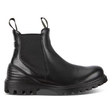Ecco Tred Tray Boots Size 4-4.5 Black
