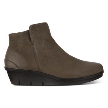 Ecco Skyler Wedge Bootie Size 5-5.5 Grey