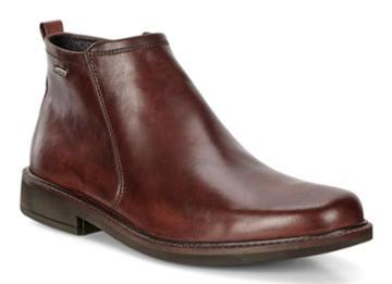 Ecco Men's Holton Plain Toe Gtx Boots Size 7/7.5