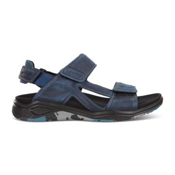 Ecco X-trinsic Flat Sandal Size 9-9.5 True Navy