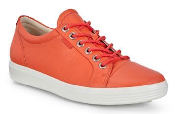 Ecco Womens Soft 7 Sneaker Size 4-4.5 Fire