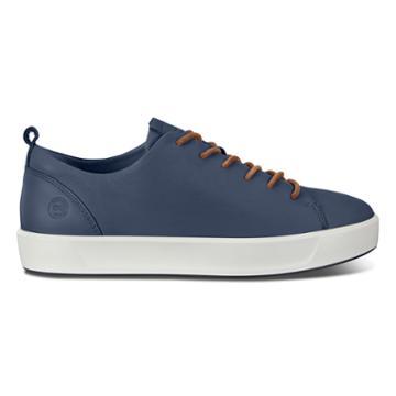 Ecco Soft 8 Sneakers Size 5-5.5 Marine Celeste