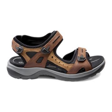 Ecco Womens Yucatan Sandal Size 4-4.5 Bison