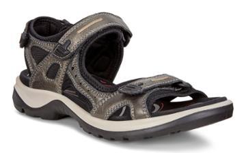 Ecco Womens Yucatan Sandal Size 4-4.5 Stone