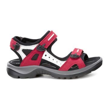 Ecco Womens Yucatan Sandal Size 12-12.5 Chili Red