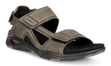 Ecco X-trinsic Flat Sandal Size 6-6.5 Tarmac