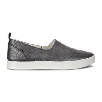 Ecco Gillian Slip On Sneakers Size 6-6.5 Black