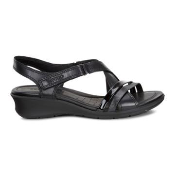 Ecco Felicia Sandal Size 7-7.5 Black
