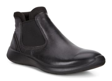 Ecco Women's Soft 5 Low Chelsea Boots Size 4/4.5