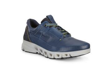 Ecco Omni-vent Outdoor Shoe Sneakers Size 6-6.5 True Navy