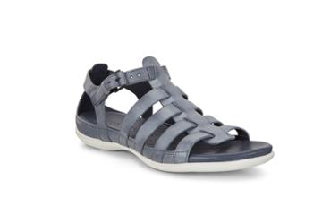 Ecco Flash Flat Sandal Size 4-4.5 Marine