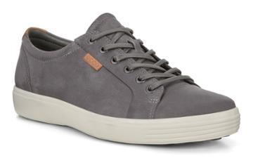 Ecco Soft 7 M Sneakers Size 5-5.5 Titanium