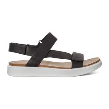 Ecco Corksphere Sandal W Size 6-6.5 Black