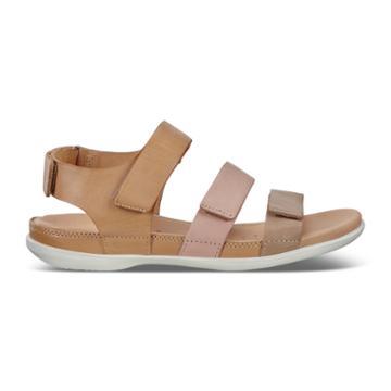 Ecco Flash Flat Sandal Size 7-7.5 Dune