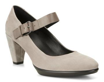 Ecco Women's Shape 55 Buckle Mary Jane Shoes Size 5/5.5