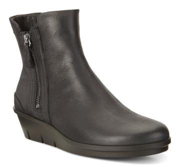 Ecco Women's Skyler Wedge Boots Size 7/7.5