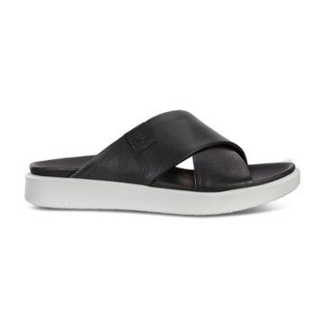 Ecco Flowt Lx W Slide Sandals Size 8-8.5 Black
