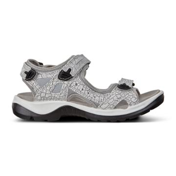 Ecco Womens Yucatan Sandal Size 6-6.5 White