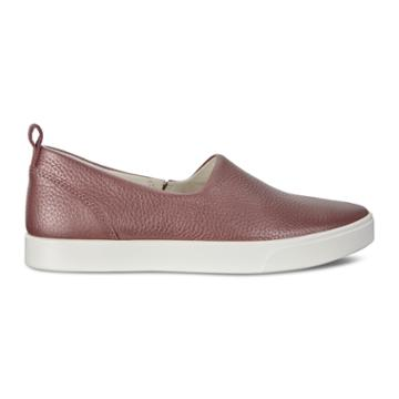 Ecco Gillian Slip On Sneakers Size 5-5.5 Deep Taupe