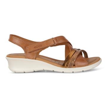 Ecco Felicia Sandal Size 6-6.5 Cashmere