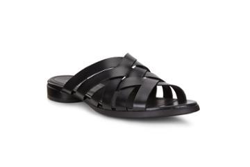 Ecco W Flat Sandal Flat Sandal Size 5-5.5 Black