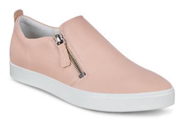 Ecco Gillian Shoe Sneakers Size 4-4.5 Rose Dust