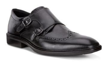 Ecco Men's Illinois Monk Strap Shoes Size 5/5.5
