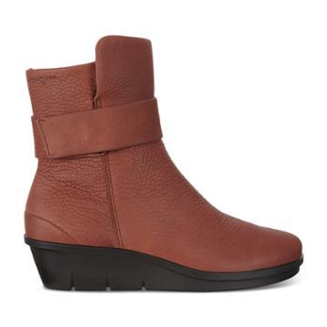 Ecco Skyler Mid-cut Boot Size 5-5.5 Brandy